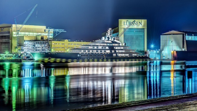 Take a Look at Azzam, The World's Largest Yacht