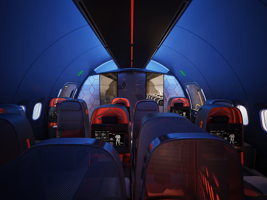Teague and Nike Design Ultimate Plane for Sports Teams