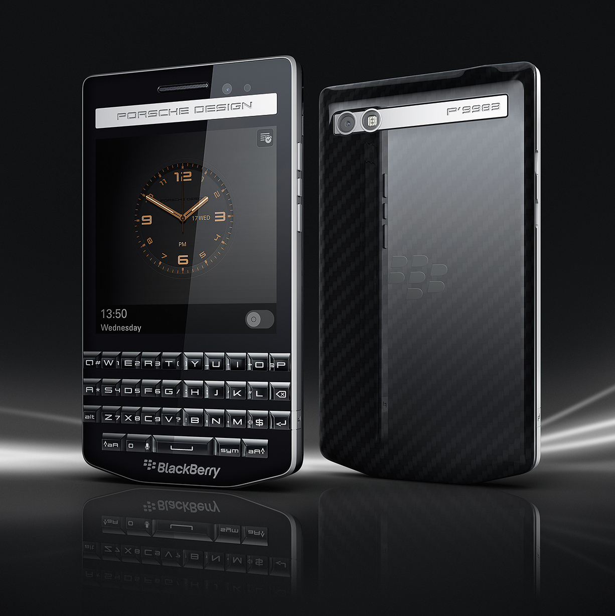 Blackberry Porsche Design P9883