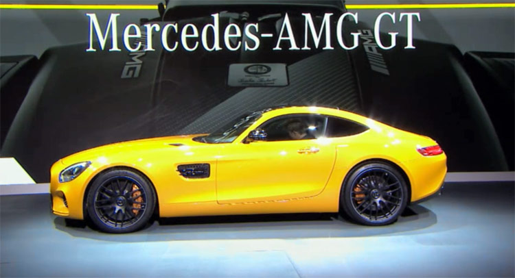 Mercedes Benz Debuts the 2016 Mercedes-AMG GT