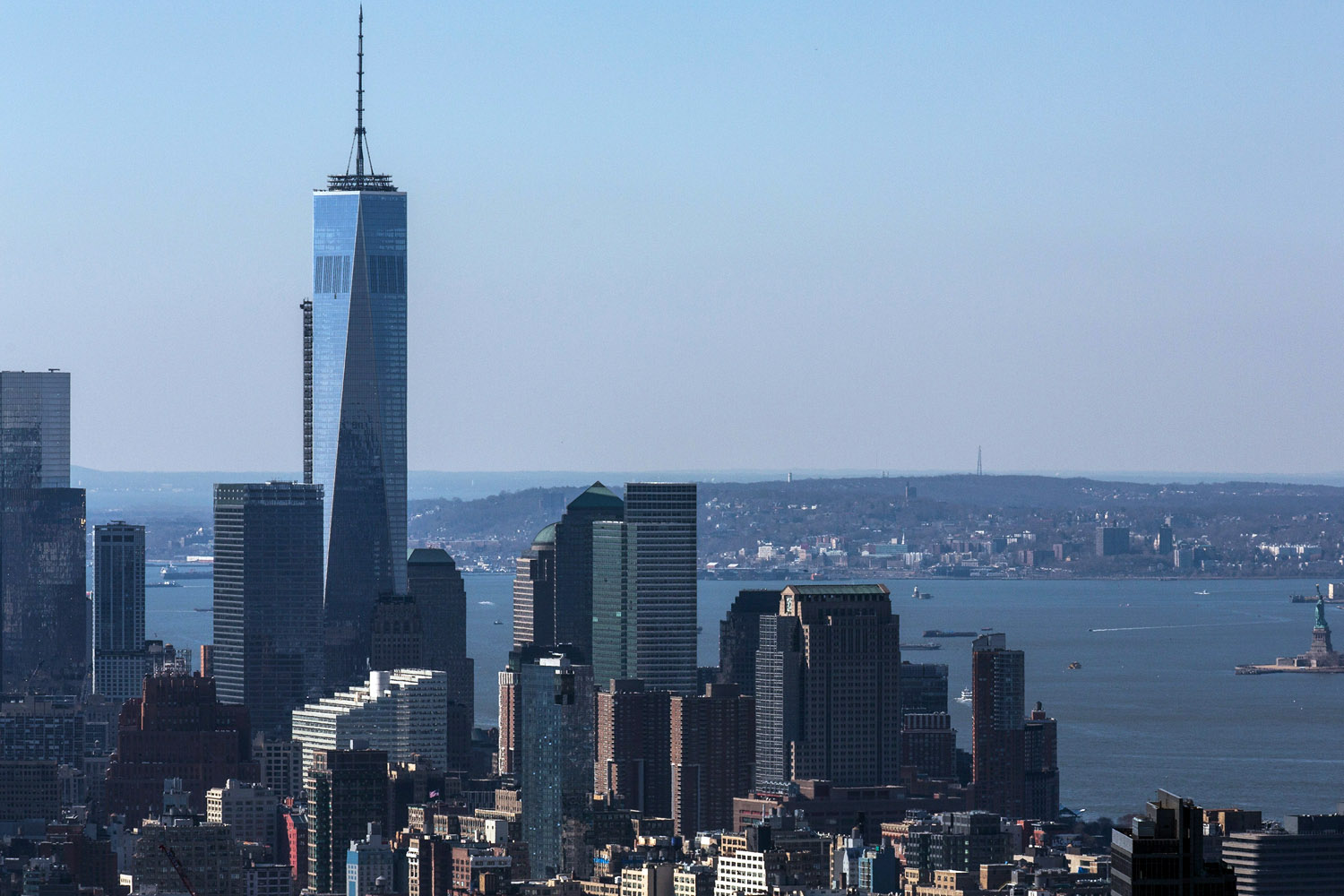 Amazing Interactive Panorama from The Freedom Tower