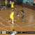 Basketball Player Runs Under Opponent's Legs to Force a Missed Shot